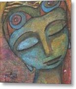 Meditative Awareness Metal Print