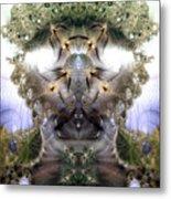 Meditative Symmetry 5 Metal Print