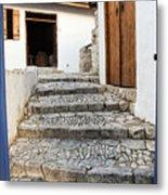 Mediteranean Old House Metal Print