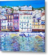 Mediterranean Morning Metal Print