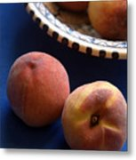 Mediterrannean Peaches Metal Print