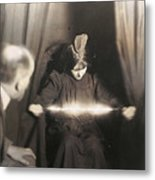 Medium During Seance 1912 Metal Print
