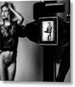 Medium Format Fashion Metal Print