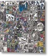 Medusa Maze Metal Print by Zak Smith