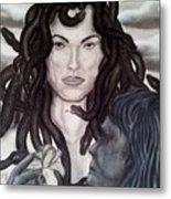 Medusa's Lament Metal Print