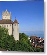 Meersburg Castle - Lake Constance Or Bodensee - Germany Metal Print