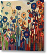Meet Me In My Garden Dreams Metal Print