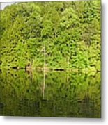 Mega Reflections Panorama Metal Print