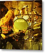 Megadeath 93-david-0364 Metal Print