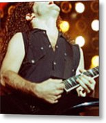 Megadeath 93-marty-0379 Metal Print