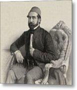 Mehmed Cemil Bey Metal Print