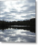 Melancholy Reflections Metal Print