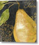Melange French Yellow Pear Metal Print
