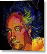 Melange User Metal Print