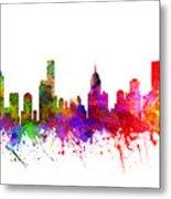 Melbourne Australia Cityscape 02 Metal Print