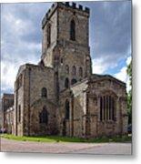 Melbourne Parish Church In Derbyshire Metal Print