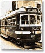 Melbourne Tram Metal Print by Darren Stein