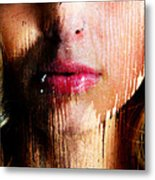 Melissa Face Metal Print