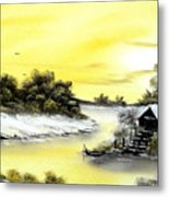 Mellow Yellow Sold Metal Print