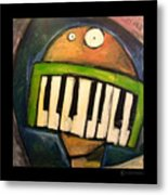 Melodica Mouth Metal Print
