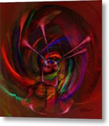 Melted Magic Metal Print