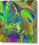 Melting Ice Metal Print