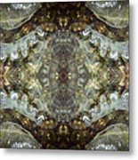 Melting Ice Over Water - Monadnock 2 Metal Print
