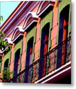 Melville Balcony By Darian Day Metal Print