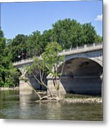 Memorial Bridge Metal Print