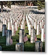 Memorial Day Metal Print by Barry C Donovan