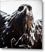 Memorial Eagle Metal Print