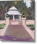 Memorial Garden Lakeside, Ohio Metal Print