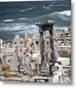 Memorials Washed Away Metal Print