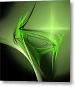 Memories Of Green Metal Print