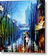 Memories Of Paris Metal Print