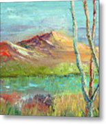 Memories Of Somewhere Out West Metal Print