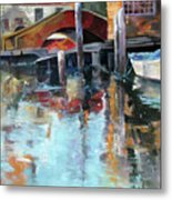 Memories Of Venice Metal Print