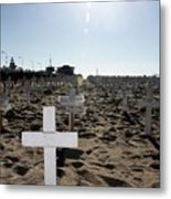 Memories On The Beach Metal Print