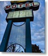 Memphis - Lorraine Motel 001 Metal Print by Lance Vaughn