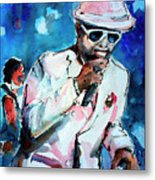 Memphis Music Legend William Bell On Stage 1 Metal Print