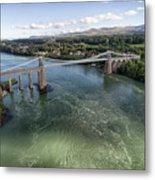 Menai Bridge 2 Metal Print
