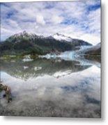Mendenhall Lake Metal Print