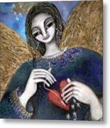 Mender Of Hearts Angel Metal Print