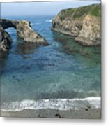 Mendicino County Viewpoint Metal Print