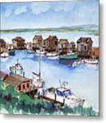 Menemsha Safe Haven Metal Print