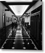 Menger Hotel Hall Metal Print