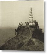 Mennie, Donald The Grandeur Of The Gorges. Fifty Photographic Studies... Of China's Great Waterway,  Metal Print