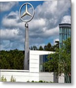Mercedes - Benz Plant Metal Print