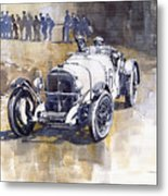 Mercedes Benz Ssk 1930 Rudolf Caracciola Metal Print