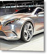 Mercedes Benz Style Coupe Concept Number 2 Metal Print